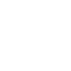 white heart in atom icon